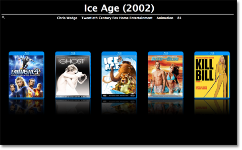 Blu-Ray cover images, in Full Screen view