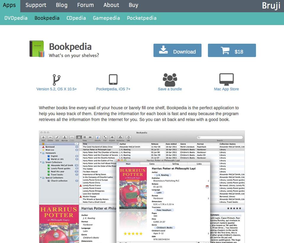 Bookpedia Site